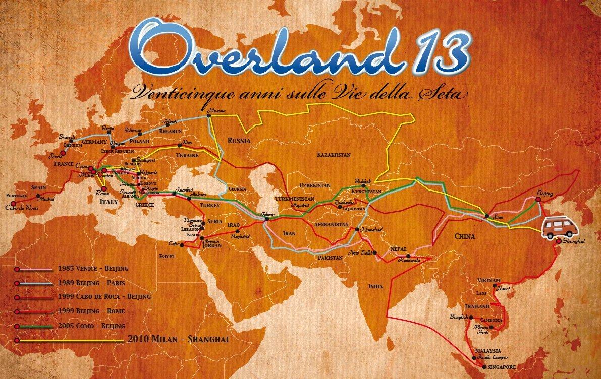 Overland 13 Venticinque anni sulle Vie della Seta