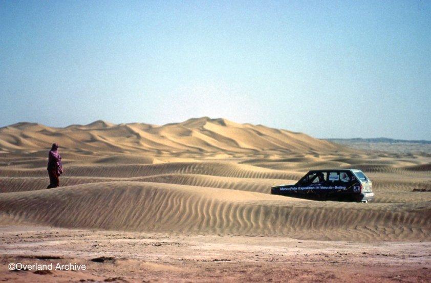 Tra le dune asiatiche