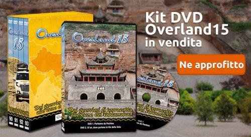 kit dvd overland 15 in vendita