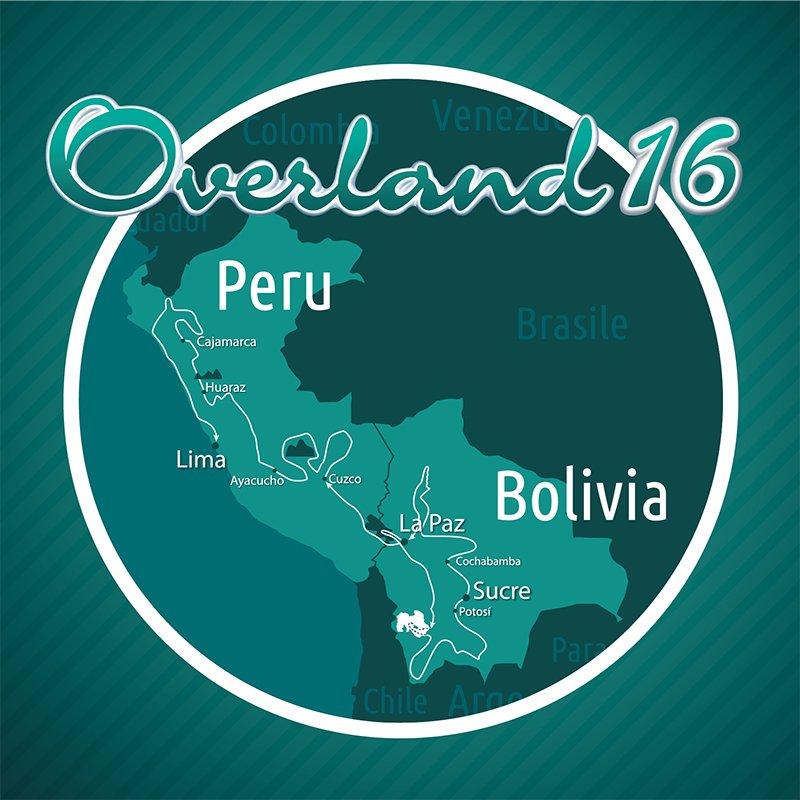 PeruBolivia Map
