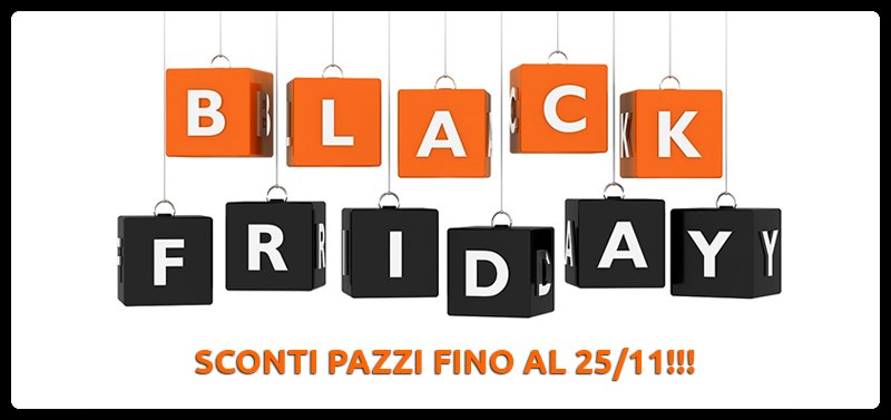 Black Friday su Overland Shop